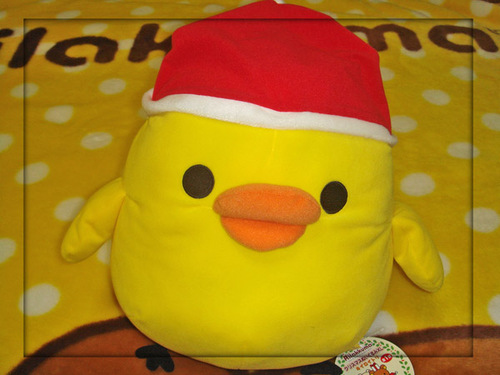 クリスマスぬいぐるみXL キイロイトリ