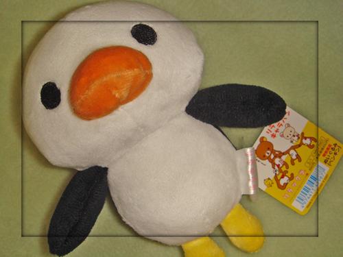 キャラバン限定ペンギンぬい